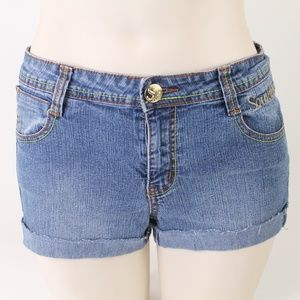South Pole Embellished Jean Short Shorts Size 16
